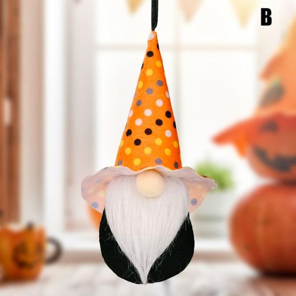 Halloween dekoration Ansiktslös hängande docka Barnleksaker Skräck Pa B