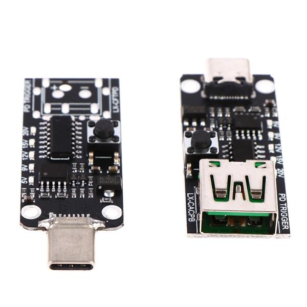 USB Type-C PD Decoy Trigger Board 9V 12V 15V Output PD 2.0 3.0 A5