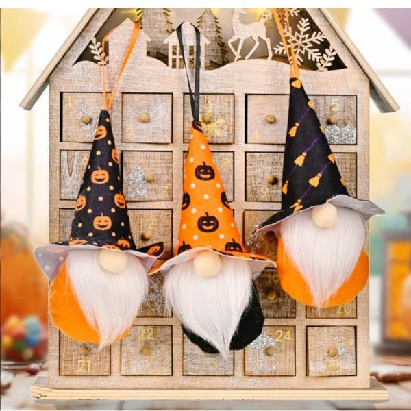 Halloween dekoration Ansiktslös hängande docka Barnleksaker Skräck Pa E