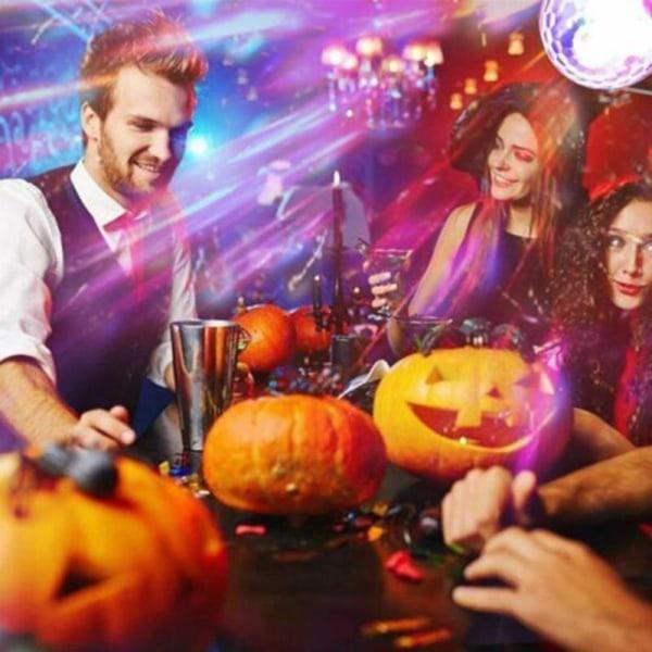 Ljud Aktiv RGB LED Stage Party Light Crystal Ball Disco Xmas