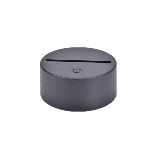USB-kabel Touch Lampbaser för 3D LED Night Light 7 Color Light