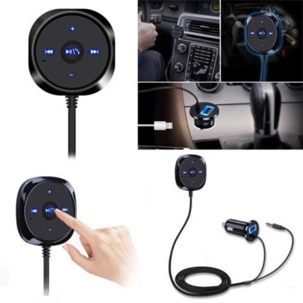 Trådlös Bluetooth-ljudmusikmottagare 3,5 mm adapter handsfree