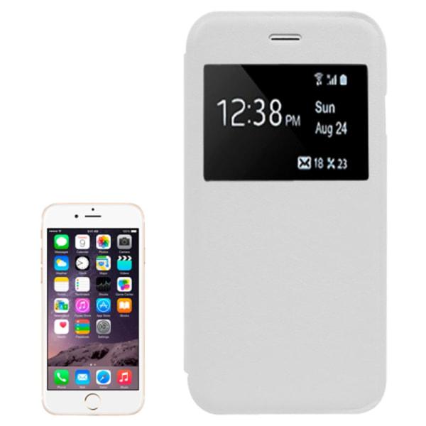iPhone 6/6S  Nummer fodral Vit