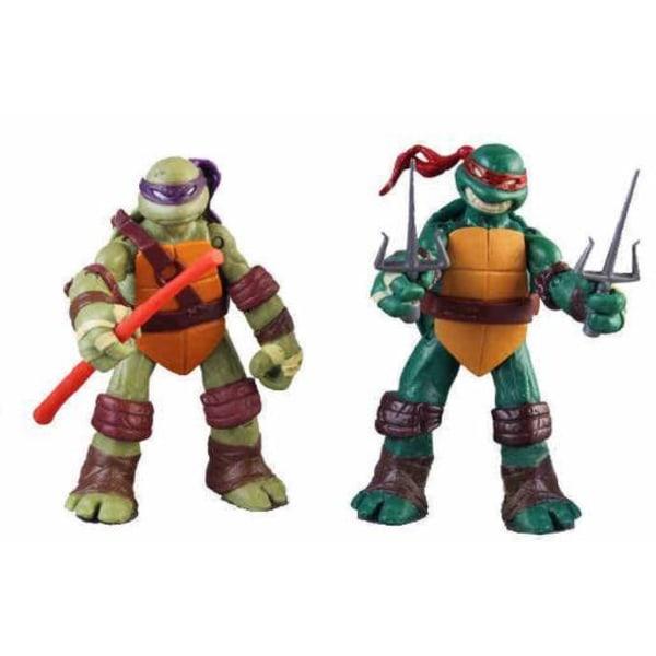 12 cm Teenage Mutant Ninja Turtles figurer- 4 stk