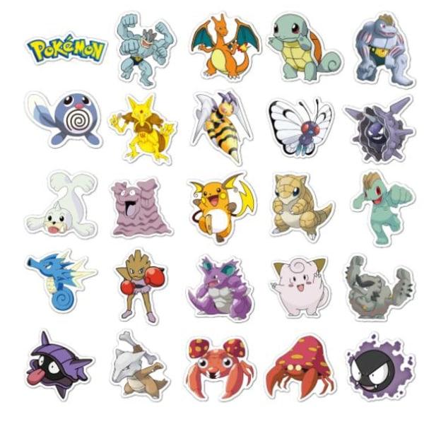 100st Pokemon Pokémon klistermärken