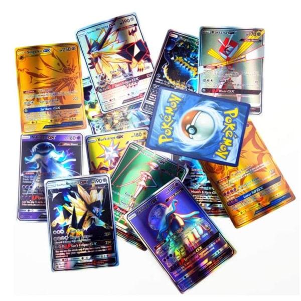 Pokémon Flash Trading kort 100pcs Pokemon Cards Set Cartoon
