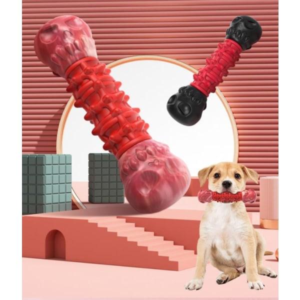 Hund Leksaker Tuggleksaker  Bäst i Test Tandrengöringsben  Röd
