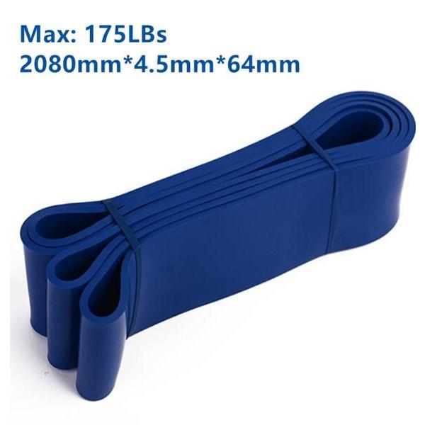 Træningsstropper Modstandsstropper Gummistropper-Powerbands-Blå