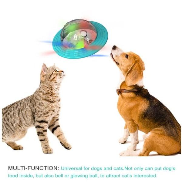 Hund Katt tumlare boll, husdjur leksak skakar mat automatisk