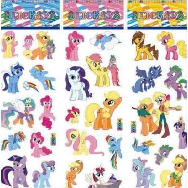 30st My Little Pony Klistermärken Stickers