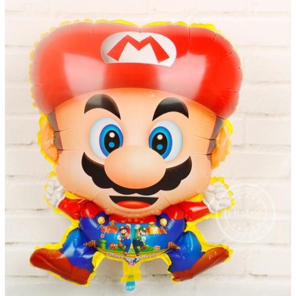 9 Pack Super Mario Aluminiumballong FOLIE BALLONG  Barnkalas
