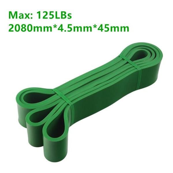 Harjoitushihnat Vastushihnat Kuminauhat-Powerbands-Green