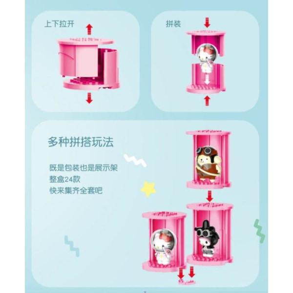 Hello Kitty Profession Clothes -sarjan sokeat laatikot