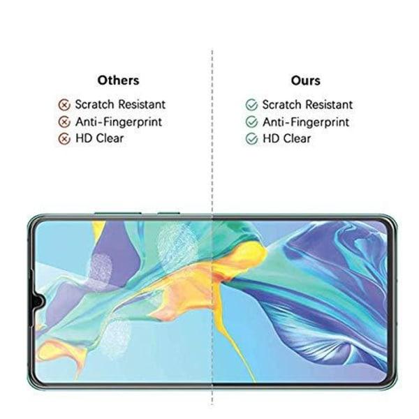 2 st härdat glas för Huawei P30 pro Transparent