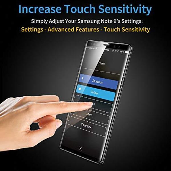 2 st Nano filmfolie för Samsung S8 Transparent
