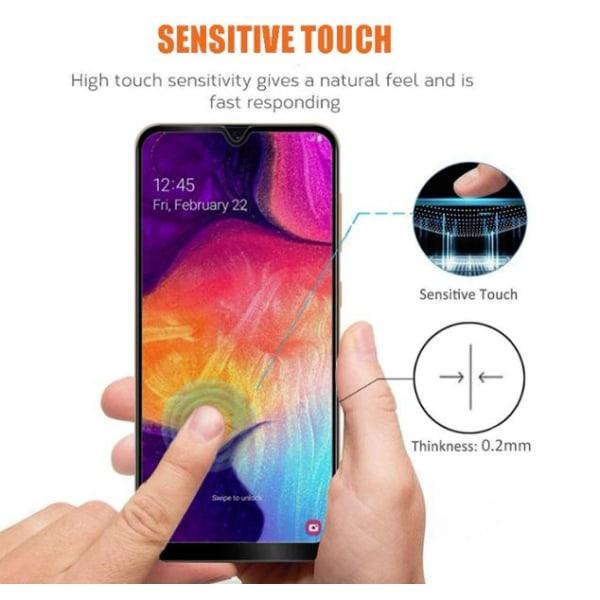 Heltäckande  för Samsung A30/A50 Transparent