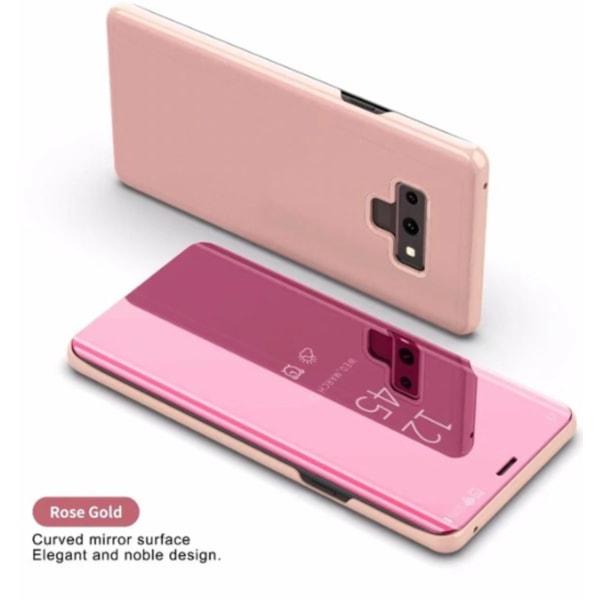 Note 9 flip fodral rosa Pink