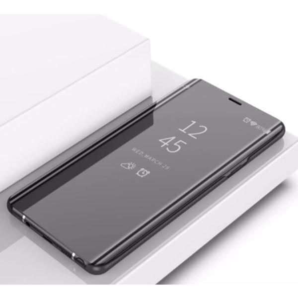 Note 9 flip fodral silver Silver