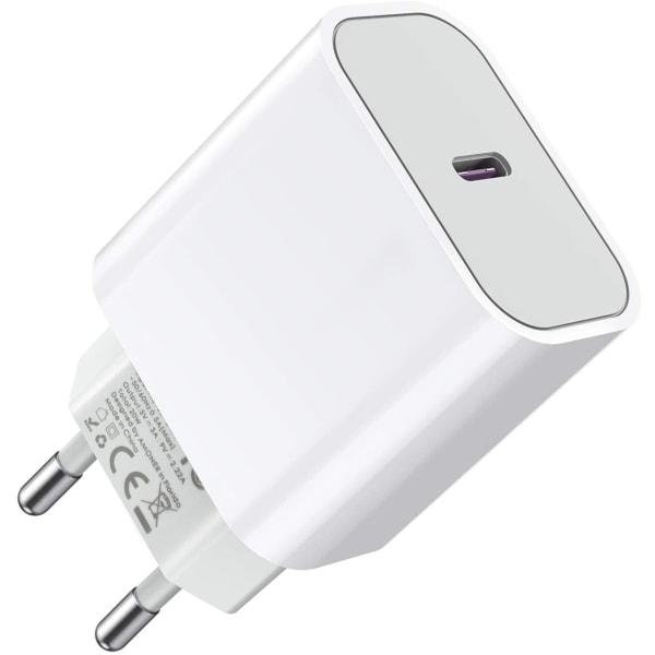 Super laddare för iPhone 12 /12 Pro PD Fastcharge Väggadapter