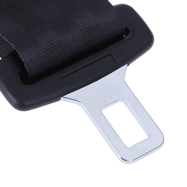 14 '' '' Svart bilbälte justerbar säkerhetsbälteförlängare One Size