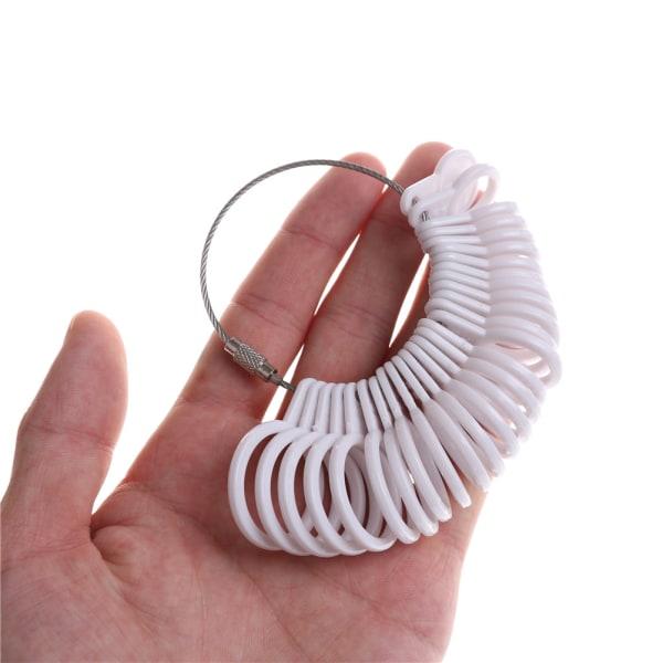 1Set Ringstorlek Stick Mandrel Finger Gauge Ring Smycken Measurin
