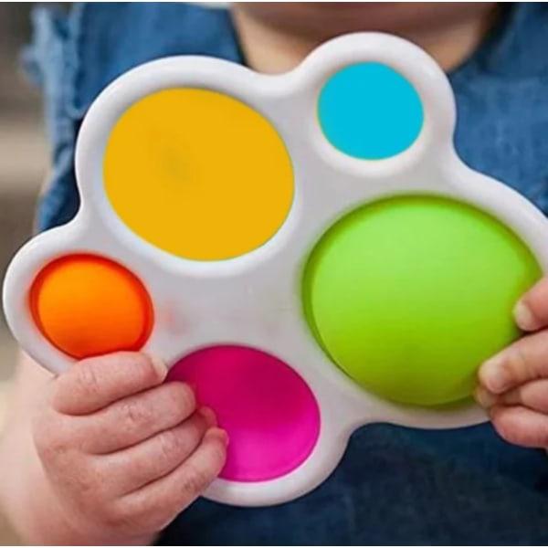 29-pack Fidget Toy Set Pop IT sensorisk leksak för barn vuxna Random Color