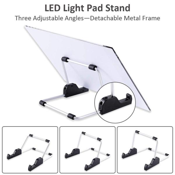 A4 LED-ljusplatta för diamantmålning 5D diamantbroderi lig