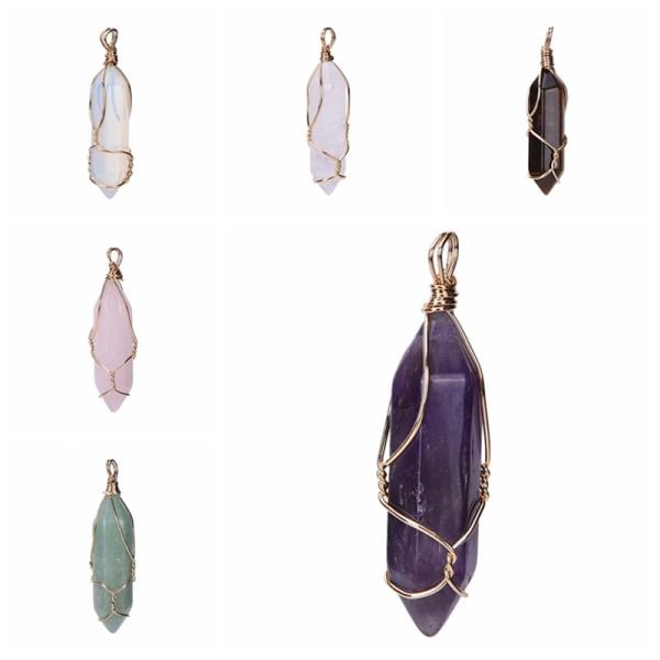 Hot Gemstone Natural Crystal Quartz Healing Point Chakra Stone