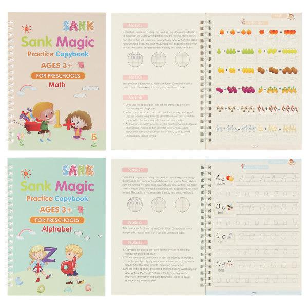 Magic Writing Stickers Kids Groove Copybook Handwriting