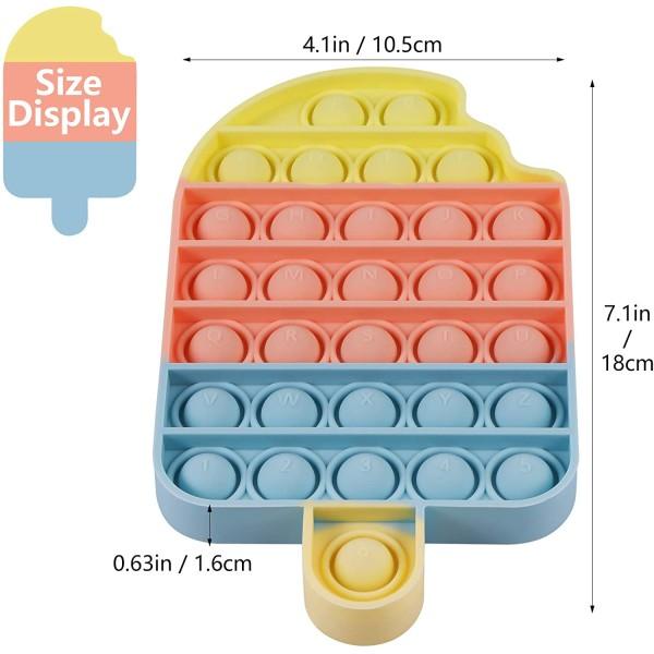 Pop Fidget sensorisk leksakglass med bubblor 1 pc
