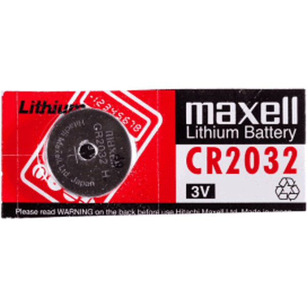 CR 2032 Maxell lithium batteri Aluminium