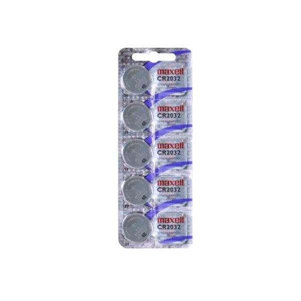 CR 2032 Maxell lPremium Lithium 10-pack Aluminium