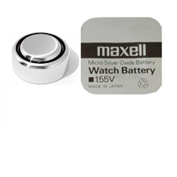 klockbatteri maxel 392 Aluminium