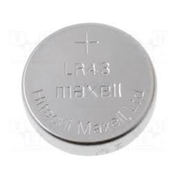 Maxell LR43-2 2pack Akryl