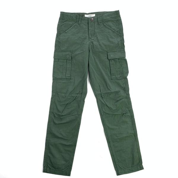Cargo Pants stl 164 Canvas Produkt Barn Byxor Grön