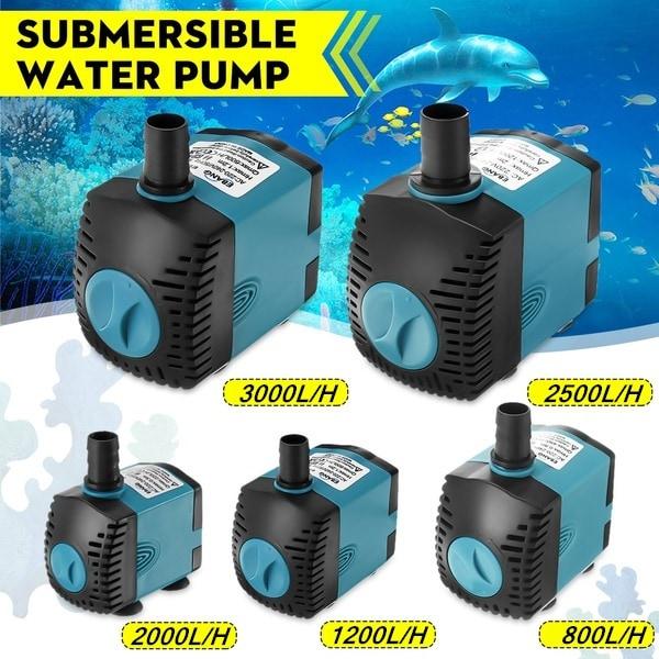 3-60W vattenpump dränkbar pump fontänpump akvariumpump 6W EU