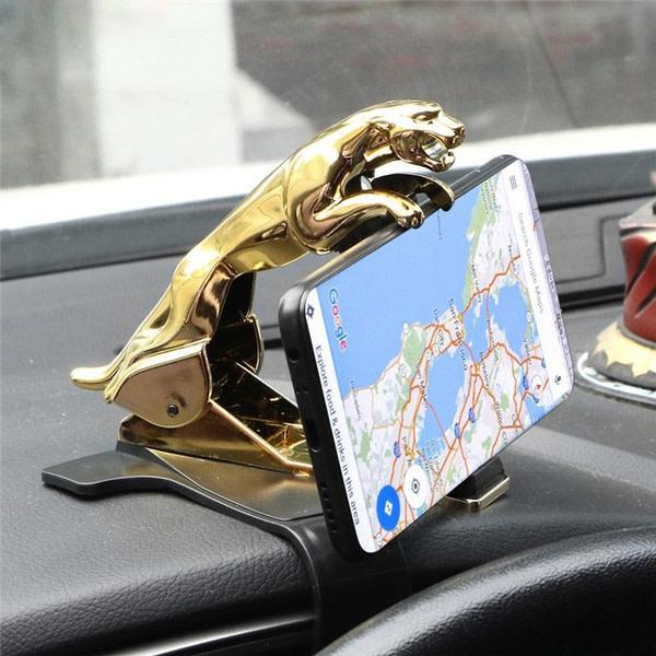Cheetah HUD bilhållare Leopard mobiltelefon GPS-stativ