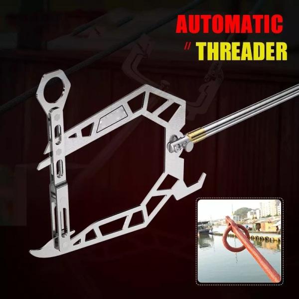 Flexibel långdistans Threadder förtöjning Threader båtkrok