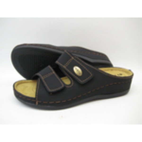Sandal slip in tofflor INBLU toffel svart 39
