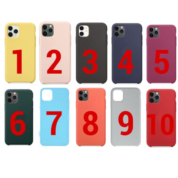 Färgglada iPhone 11 Skal - 10 Färger