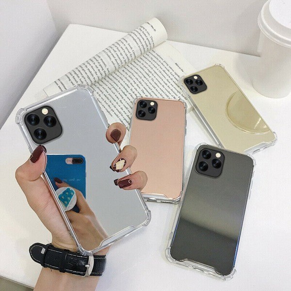 iPhone 11 Spegel Skal - 4 Färger rosa