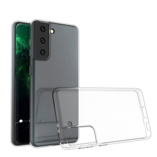 Samsung Galaxy S21 Plus Transparent TPU Skal