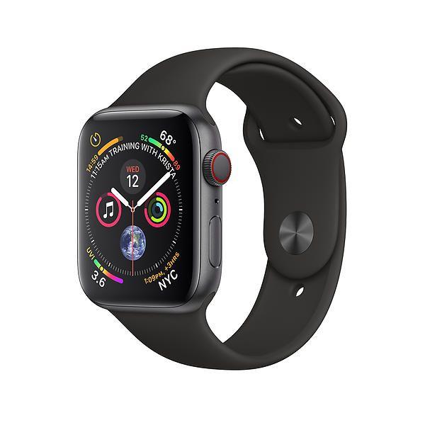 Apple Watch 4 Aluminium 44mm 4G Svart Grade A Svart