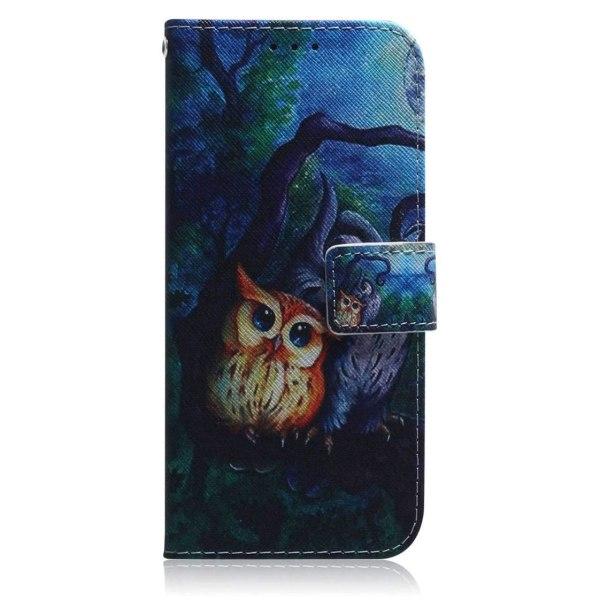 Plånboksfodral Xiaomi Mi 11 Lite – Ugglor I Månsken
