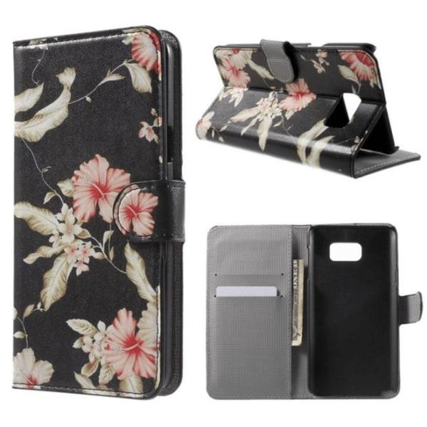 Plånboksfodral Samsung Galaxy Note 5 – Blommor & Blad
