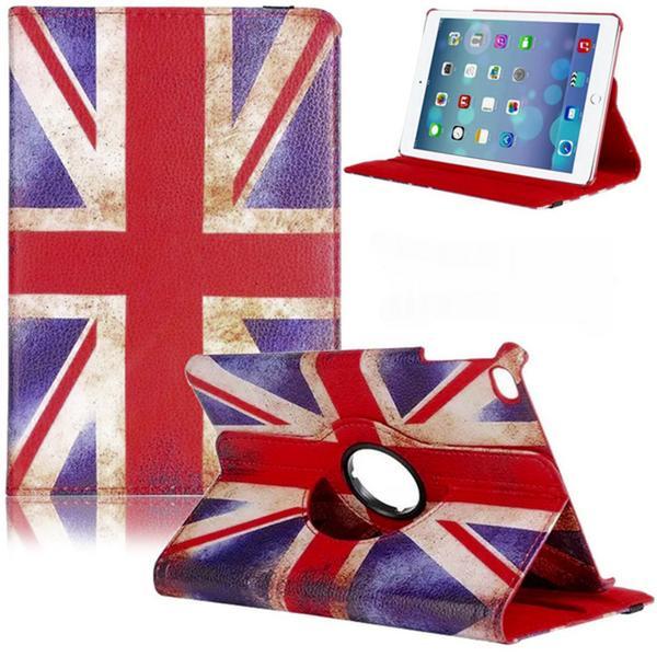 Fodral iPad Mini 4 Roterbart 360° - Retro UK (Brittiska Flaggan)