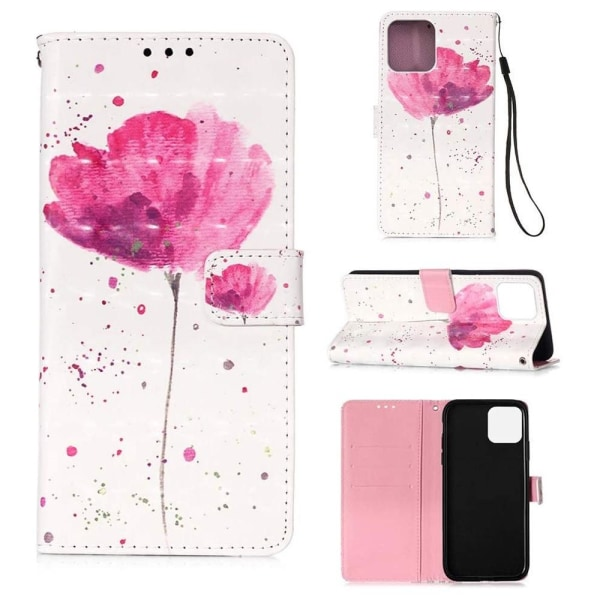 Plånboksfodral Apple iPhone 12 Pro – Rosa Blomma