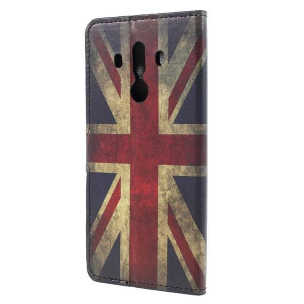 Plånboksfodral Huawei Mate 10 Pro - Flagga UK