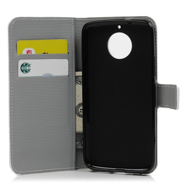 Plånboksfodral Moto G5S – Blå Fjäril