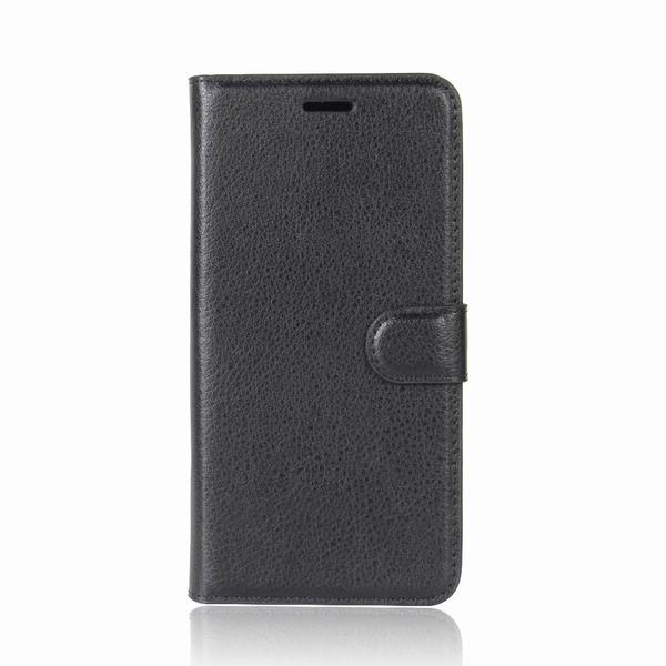 Plånboksfodral Moto G5S - Svart Black